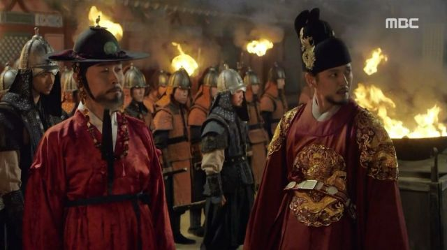 The King and Park Soo-jong