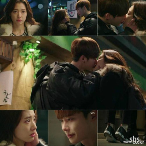"""Pinocchio"" preview: Lee Jong-suk and Park Shin-hye kiss ..."