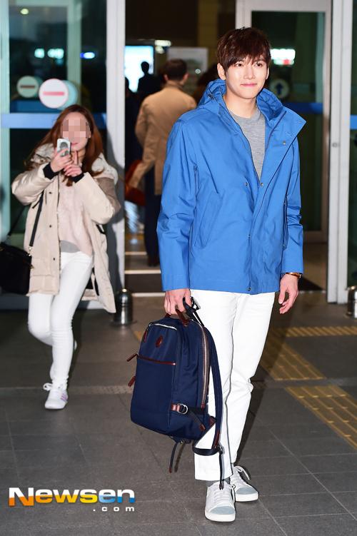 Ji Chang Wook's New Year Airport Fashion