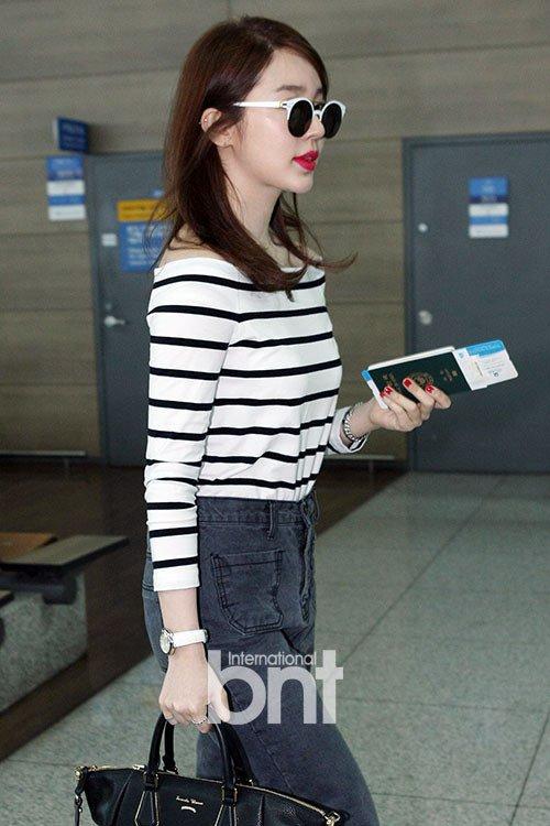 Photos Yoon Eun Hye 39 S Airport Fashion Hancinema The