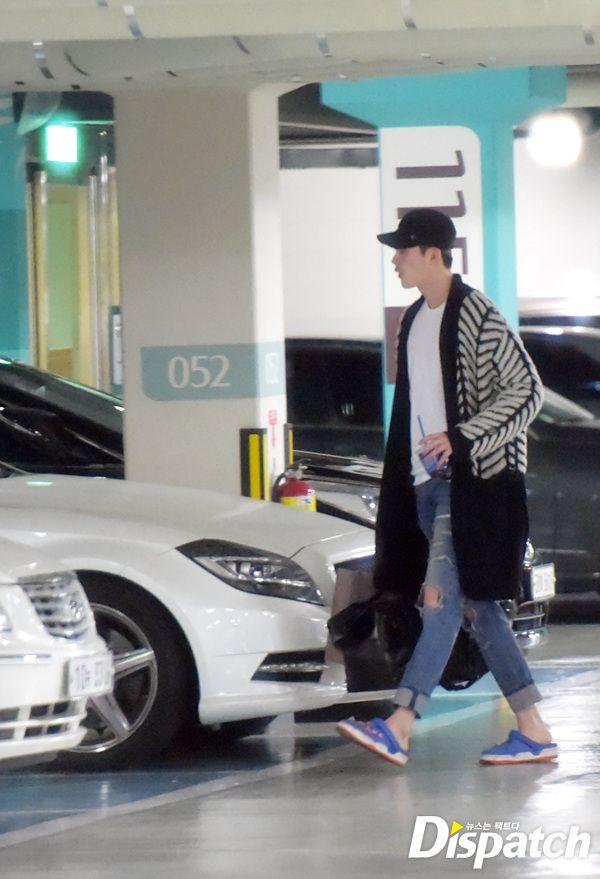 Porsche 911 T >> [Photos] How Lee Jong-suk and Park Shin-hye met as ...