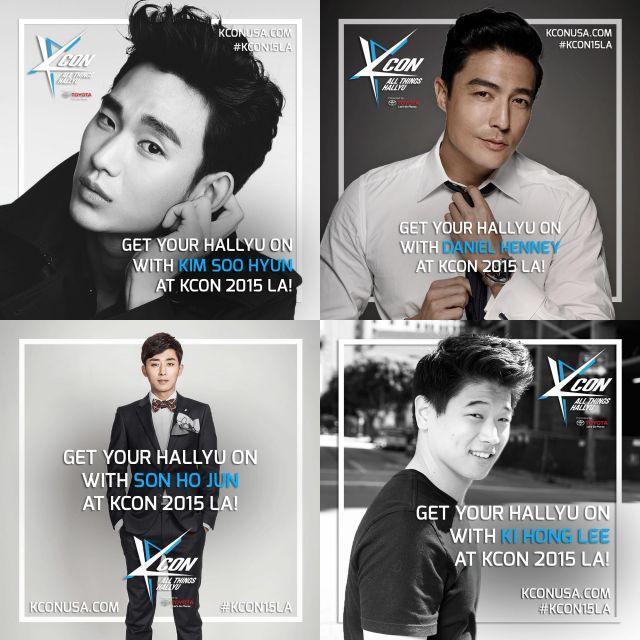 KCON Drama Stars Announcement