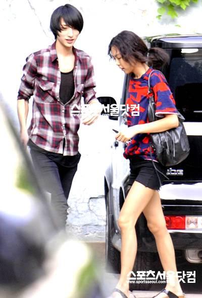 Chanmi S Star News Actress Kim Min Hee In Relationship