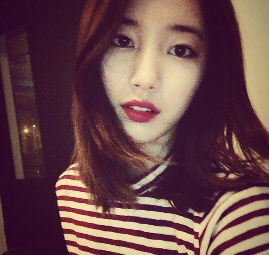 "Suzy... what up? New short hair... ""still looks pure and young"" @ HanCinema :: The Korean Movie ..."