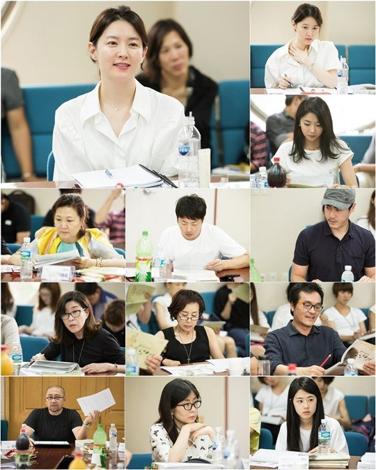 Light s diary quot first script reading session hancinema the korean