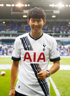 best website 97d2c cdee1 Son Heung-min Ready to Don Tottenham Jersey @ HanCinema ...