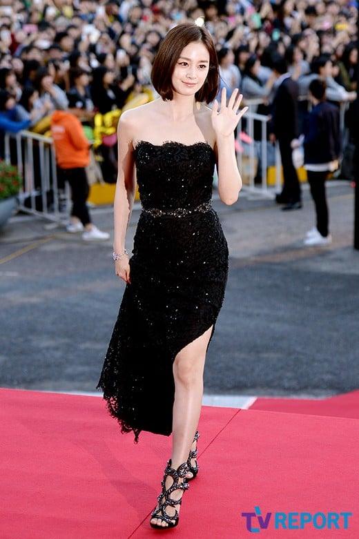 Kim Tae Hee Lee Tae Im Wang Bit Na Wowed In Dresses With