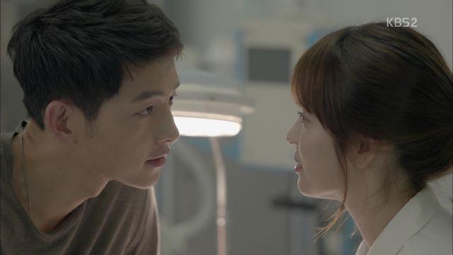 Si-jin and Mo-yeon