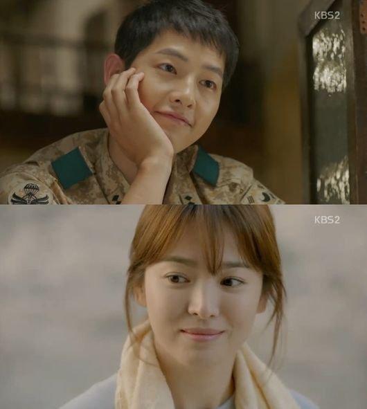 "Spoiler] ""Descendants of the Sun"" Song Joong-ki and Song Hye-kyo ..."