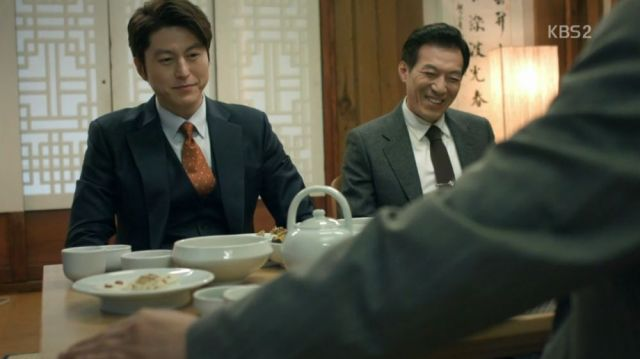 Ji-wook, Yeong-il and Chairman Jeong