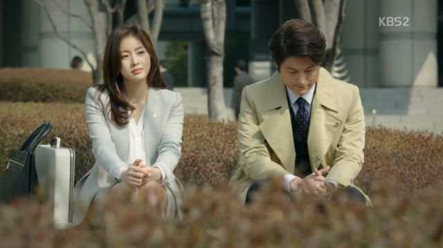 Eun-jo and Ji-wook