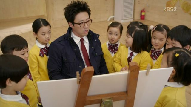 Deul-ho and the kids