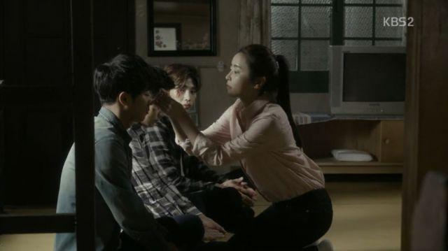 Tae-ha, Moo-myeong, Gil-yong and Yeo-gyeong