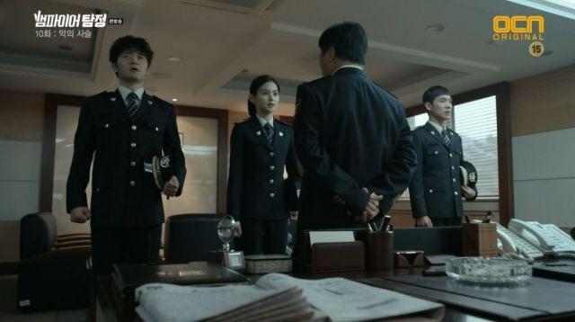 Tae-woo, Yoo-jin and San