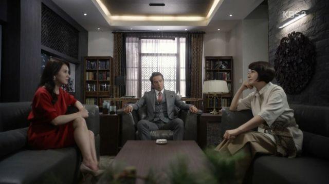 Kang-sook, Gil-do and Mi-ja