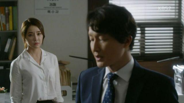 Yeo-gyeong and Prosecutor Ahn