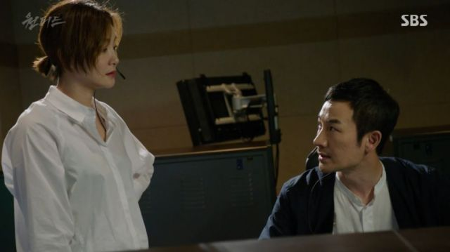 Woo-sin confronting Dong-wook