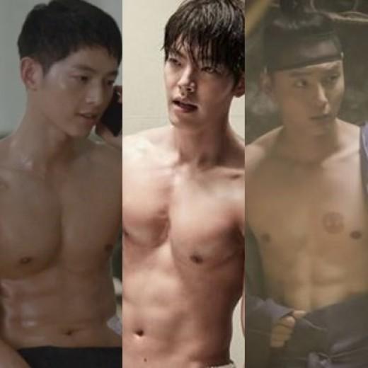 Song Joong-ki, Kim Woo-bin And Yoon Si-yoon, Three Actors