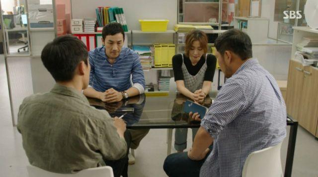 Dong-wook, Woo-sin, Yeong-sik and Dong-joon