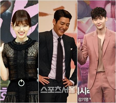 Park Shin Hye Kim Woo Bin Lee Jong Suk Three Friends Dominate