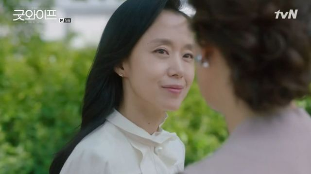 Hye-kyeong cutting her ties to those who abandond her