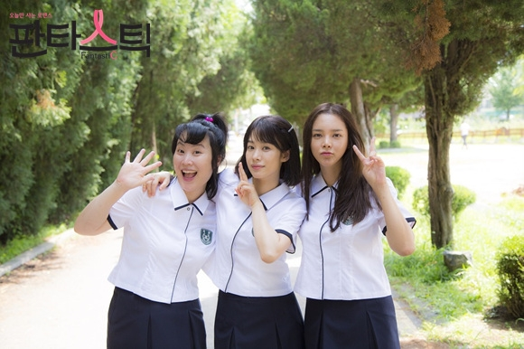 Mi-seon, So-hye and Seol