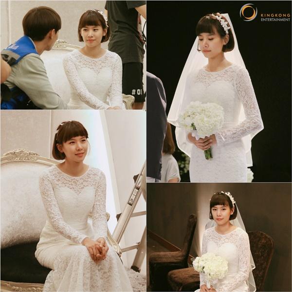 Wolgyesu Tailor Shop' Jo Yoon-hee in wedding dress, beautiful just ...: www.hancinema.net/-wolgyesu-tailor-shop-jo-yoon-hee-in-wedding...