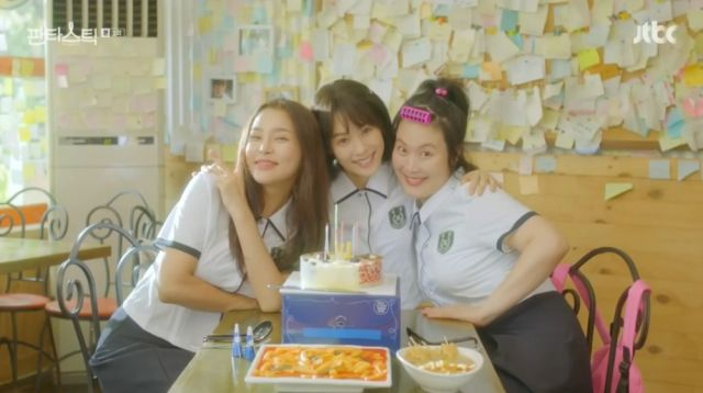 Seol, So-hye and Mi-seon