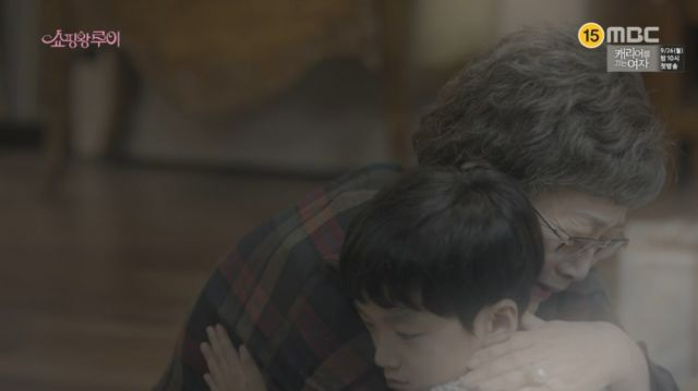 Il-soon and little Ji-seong