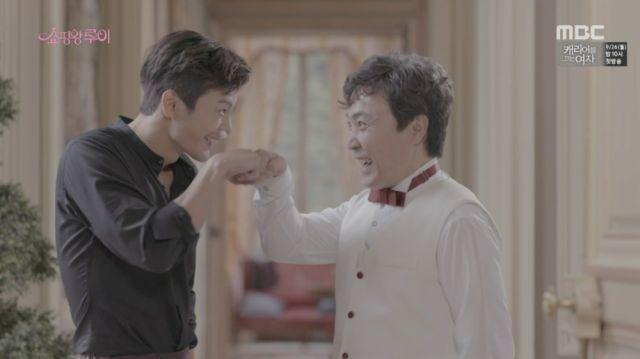 Louis/Ji-seong and Ho-joon