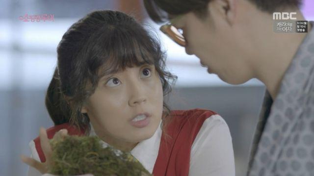 Bok-sil and Joong-won