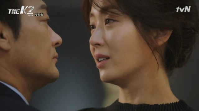 Se-joon being confronted by Yoo-jin