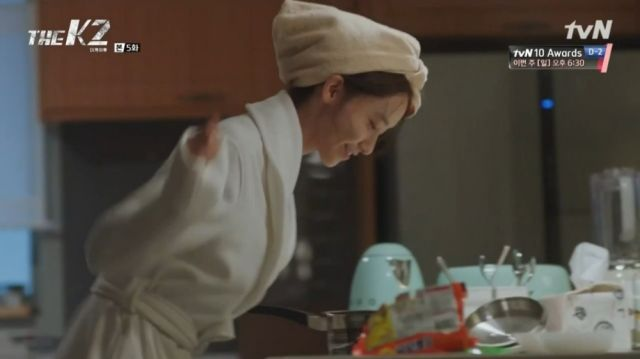 Ahn-na finally gets her ramyun
