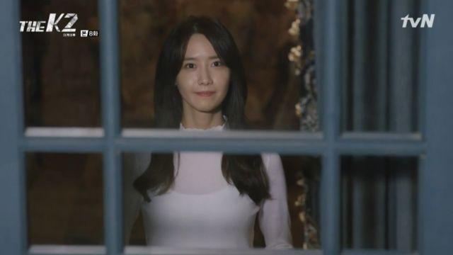 Ahn-na waiting for Je-ha's ok to move
