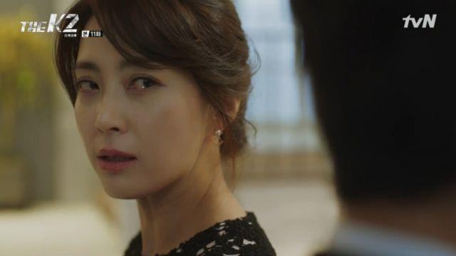 Yoo-jin telling Se-joon off