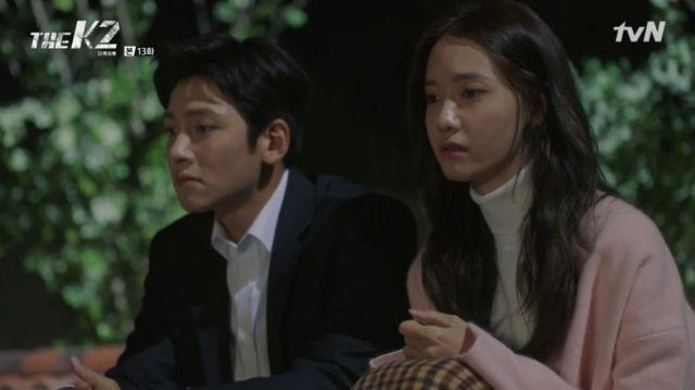 Ahn-na confiding in Je-ha