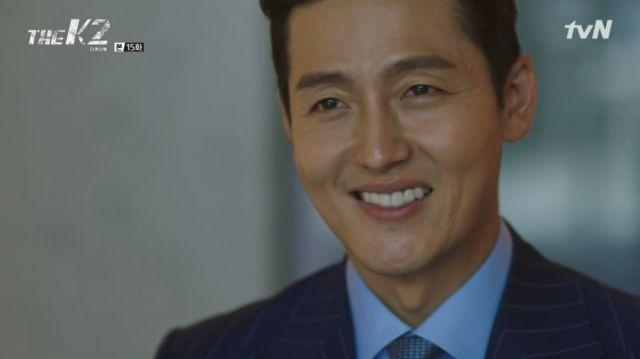 Seong-won taunting Yoo-jin back