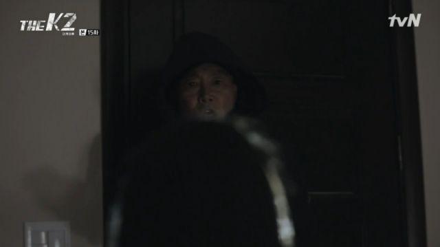 Yeong-choon as the man who silenced Ahn-na