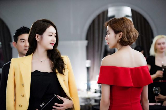 I-kyeong and Se-jin