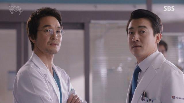Teacher Kim and Dr. Song