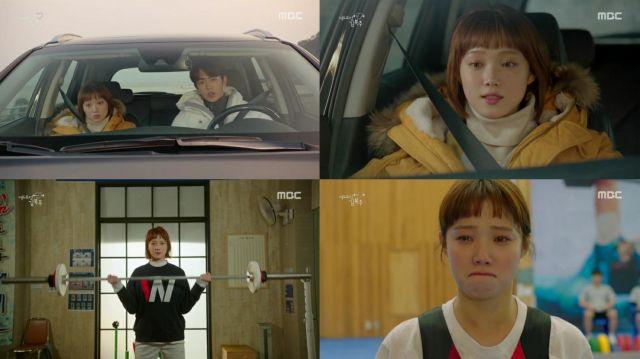Risultati immagini per Weightlifting Fairy Kim Bok Joo episode 09