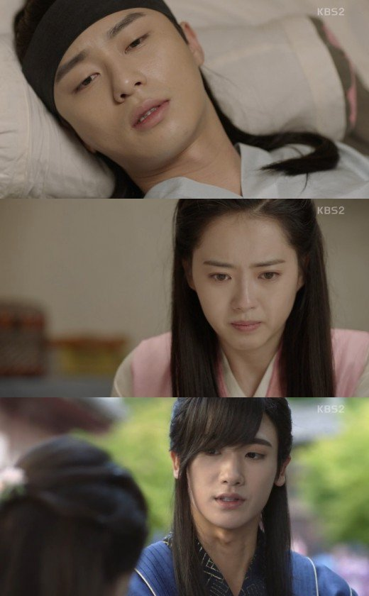 Spoiler Hwarang Park Seo Joon And Go Ara Realize Love For Each