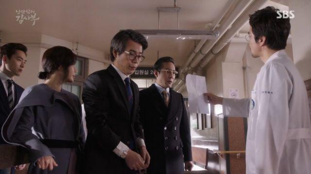 Yoon-wan getting thoroughly owned by Teacher Kim