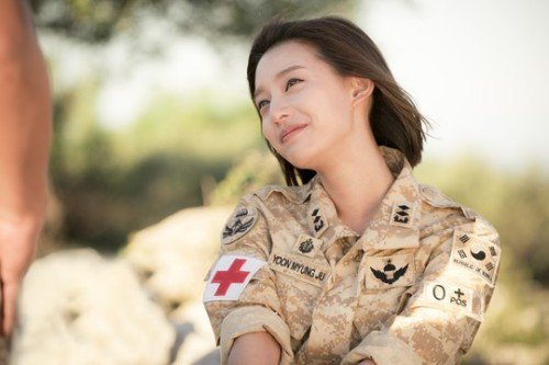 /></a></p> <p>- <a href='korean_Kim_Ji-won.php'><strong>Kim Ji-won</strong></a>, the best female soldier</p> <p><a href='korean_Kim_Ji-won.php'><strong>Kim Ji-won</strong></a> is the only female actress who has been in uniform recently in a lead role. She played Yoon Myeong-joo, a military doctor in