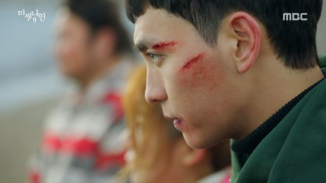 Tae-ho after murdering So-hee
