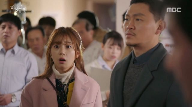 Bong-hee and Tae-yeong cannot believe the lies