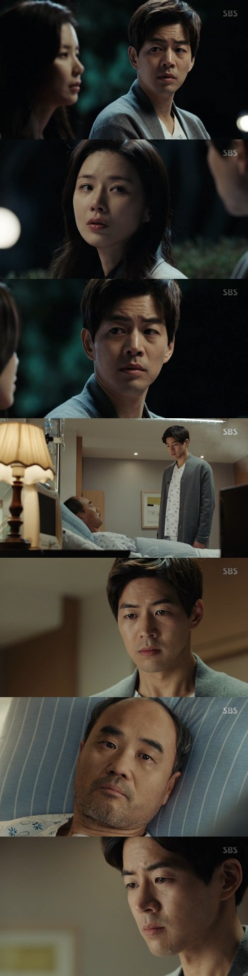 "[Spoiler] ""Whisper"" Lee Sang-yoon confesses to Kang Shin-il"