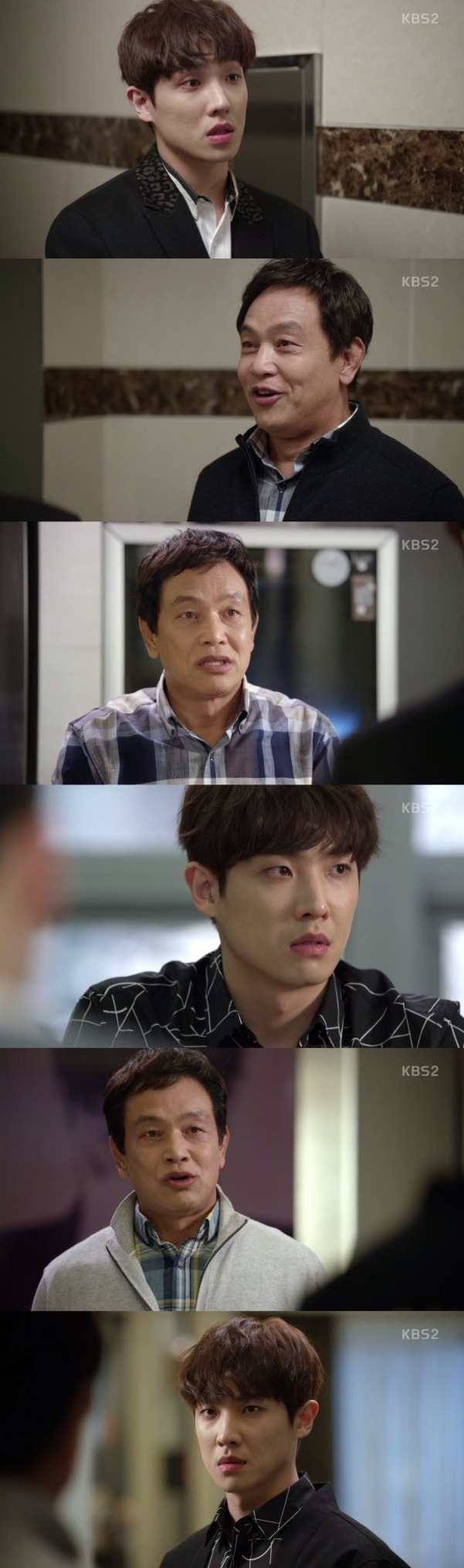 [Spoiler] Added episodes 13 and 14 captures for the Korean drama 'Father is Strange'