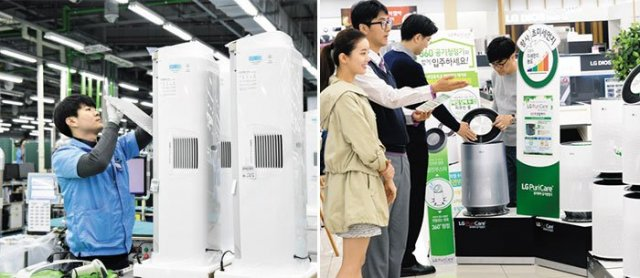 Home Appliance Makers Cash in on Fine Dust Pollution Concerns