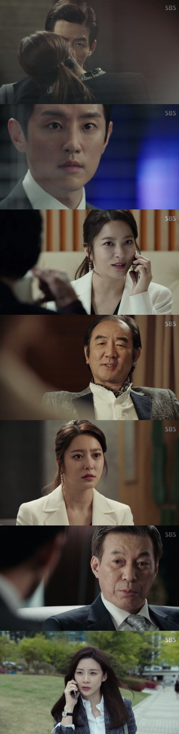 [Spoiler] Added episode 8 captures for the Korean drama 'Whisper'